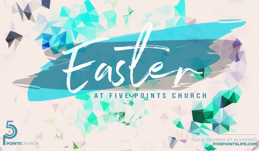 Easter at Five Points